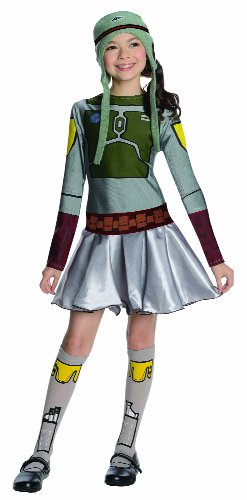 Star Wars Boba Fett Costume Dress, Large (Female Yoshi Costume)