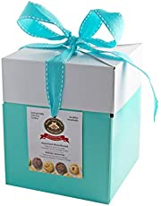 MARY MACLEOD'S SHORTBREAD Large Mint Gift Box of Assorted Shortbread Cookies, 480 Grams