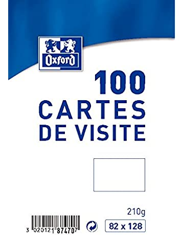 Syndecho 200 Pcs Vierges En Papier Kraft Cartes De Visite Word Carte Message DIY Cadeau