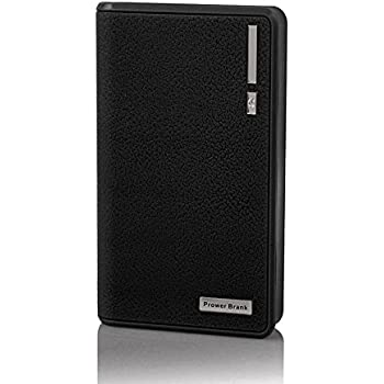 20000mAh Portable Charger External Battery Power Bank for Smart Phones and Tablets (20000mAh Black)