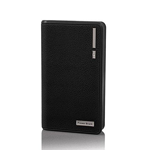 SKYVAST 20000mAh cargador externo portátil batería Power Bank para Apple iPhone iPad Samsung Galaxy y otros teléfonos Tablets (20000mAh Black) (Pc De Poder Fuente)