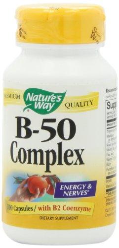 Способ Витамин B-50 комплекс, капсулы, 100-Граф природы