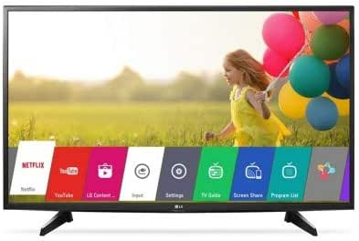 LG 43 Inch Full HD Smart LED TV With Built-In HD Receiver- 43LJ550V
