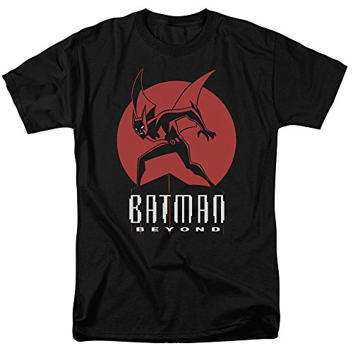 Trevco Men's Batman Beyond Perched Short Sleeve Adult T-Shirt at Gotham City Store