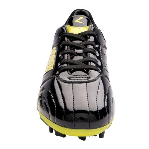 Image of Larcia Soccer Shoe (Little Kid/ Big Kid) (5) Yellow/Black
