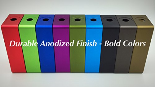"""BMG Mods """"1590g Tall"""" CNC Milled Anodized Aluminum 18650 Battery Enclosure: Olive Green (Satin Finish) by BMG Mods (Image #1)"""