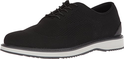 SWIMS Barry Derby Knit In Black/Gray/Graphite, Size 10 by SWIMS