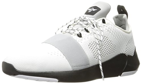 Creative Recreation Men's Ceroni Fashion Sneaker, White/Black, 11 M US