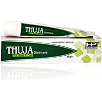 Hahnemann Pharma Thuja Ointment for Warts Corns. 25 Gms Pack of 3