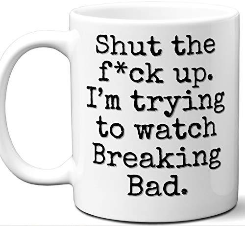 Breaking Bad Gift Mug. Funny Parody TV Show Lover Fan