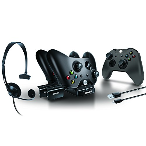dreamGEAR  Players Kit includes charge dock/sync cable/headset/silicone controller cover  for Xbox One