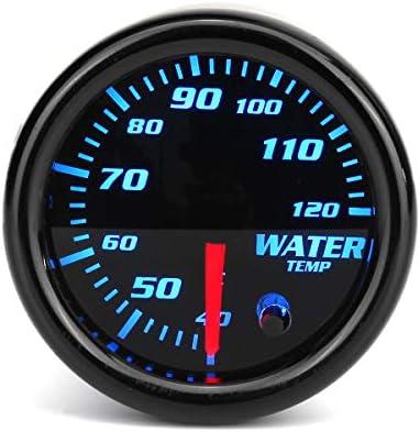 Queenwind 導かれる2インチ52Mmの水温のゲージメートル7色