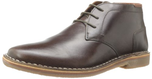 Steve Madden Men's Hestonn Chukka Boot,Dark Brown,10 M US