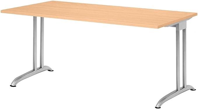 Escritorio 160 x 80 cm grarce: Amazon.es: Hogar