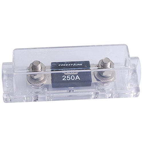 Conext Link FHA15250 1 pc 1/0 2 4 AWG ANL Fuse Holder with 5 pcs Fuses (250A) 250a Fuse