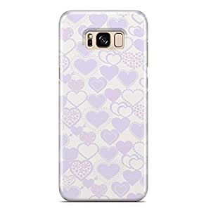 Samsung S8 Plus Case Heart Love Pattern Pattern Great For Girls Durable Metal Inforced Light Weight Samsung S8 Plus Cover Wrap Around 90