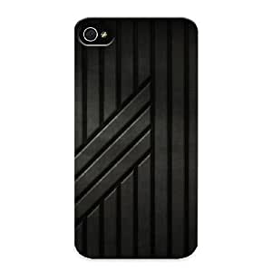 Charlesvenegas Series Skin Case Cover Ikey Case For Iphone 4/4s(futuristic Panels)