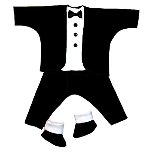 046e07a01 Jacqui's Baby Boys' Black and White Baby Tuxedo Suit, Small Newborn - Buy  Online in Oman. | Apparel Products in Oman - See Prices, Reviews and Free  Delivery ...
