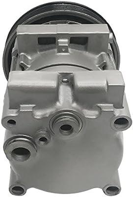 RYC Remanufactured AC Compressor and A//C Clutch EG122