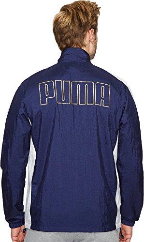 PUMA Men's T7 Bboy Track Jacket Peacoat/White X-Large