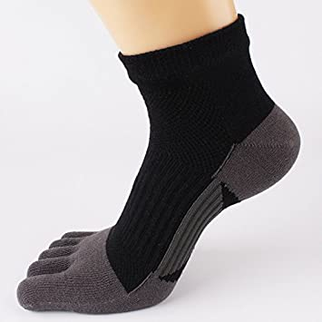 Liuxc Calcetines Calcetines de barco deportivos para hombres calcetines de cinco dedos para hombres calzoncillos sudorosos