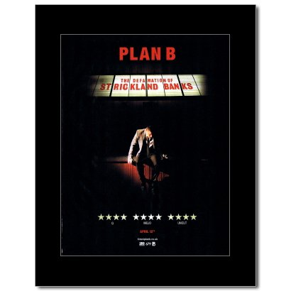 Music Ad World Plan B - Defamation of Strickland Banks Mini Poster - 28.5x21cm