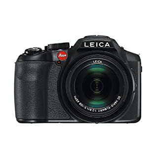 Leica 18191 V-LUX 4 12.7MP Compact System Camera with 3.0-Inch TFT LCD - Black
