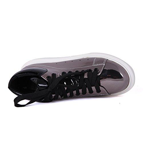 Minivog Damesschoenen Lederen Oxford Loafers Dark