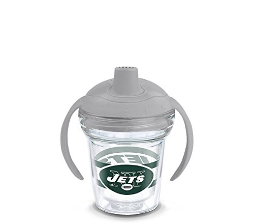 Tervis Tumbler NFL New York Jets 6oz Sippy Cup with Grey Lid