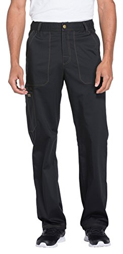 - Men's Essence Drawstring Zip Fly Scrub Pants