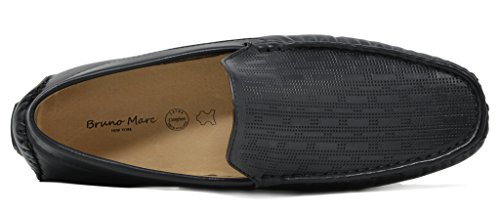 BRUNO MARC NEW YORK Men's PHILIPE-02 Black Penny Loafers Moccasins Shoes Size 7.5 M US by BRUNO MARC NEW YORK (Image #3)