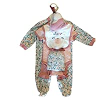 Chick Pea Baby Outfit - 6 Piece Baby Clothing - Baby Gift Set