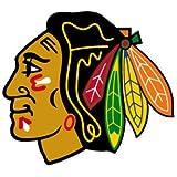 """Chicago Blackhawks NHL car bumper sticker decal (5"""" x 5"""")"""