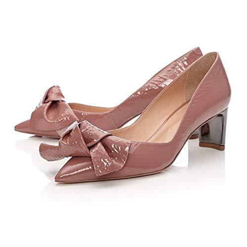 Moda Pour Femme Rose Escarpins In Pelle HFYqwZC