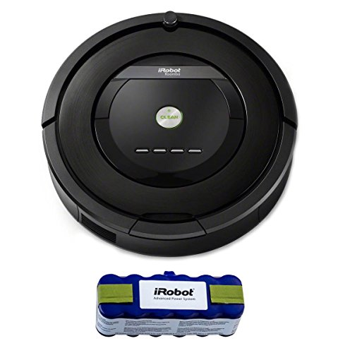 iRobot Roomba 880 Robotic Vacuum Cleaner w/ XLife Extended Life Battery