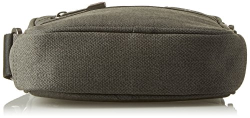 Tommy Hilfiger Herren Essential Mini Reporter Prt Tasche, Grau (Grey Mix), 5x20x16 cm