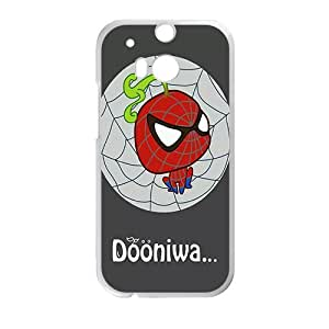 SANLSI Spiderman Phone Case for HTC One M8 case