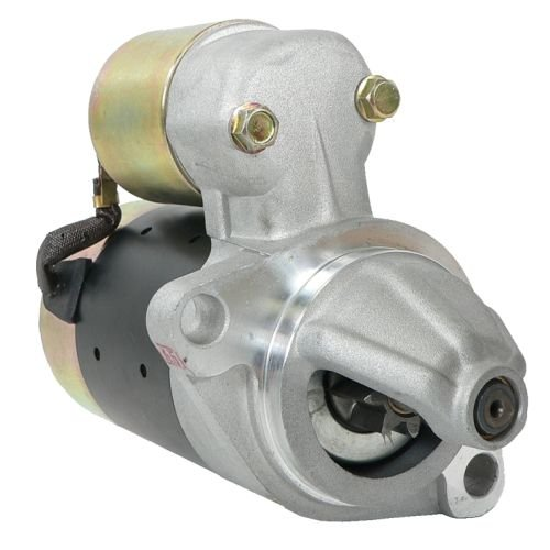 Yanmar Engine Parts (DB Electrical SHI0156 New Starter For Yanmar L100 10Hp Industrial Diesel Engines, L100 L40S L60S Yanmar Engine S114-650 410-44043 18494 2-2836-HI 114351-77011 414351-77011 S114-650A)