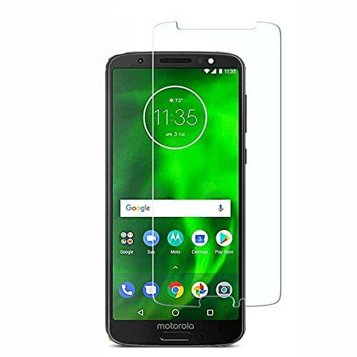 Película de Vidro, Cell Case para Smartphone Moto G6 XT1925, Película de Vidro Protetora de Tela para Celular, Transparente