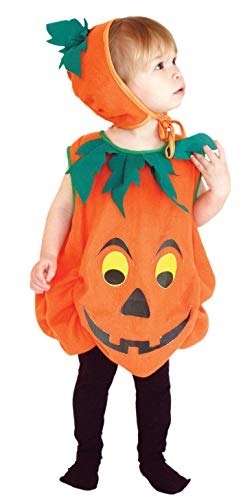 Baby Halloween Cartoon Pumpkin Costume]()