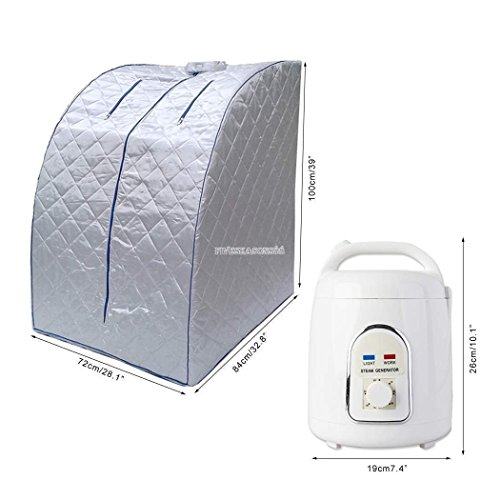 Gizmo Supply Co Portable Therapeutic Steam Sauna Spa