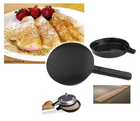 Electric Crepe Maker Silicone Basting product image