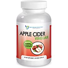 Doctor Recommended 1500 mg Organic Apple Cider Vinegar Capsules (120 ct) – Detox & Cleansing Support – Promotes Gut Health – Includes Probiotics – Made w/Coconut, Aloe, Astragalus – Made in the USA