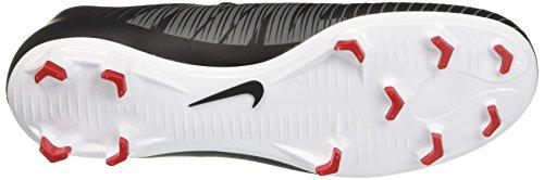 Nike Dame Pro Kamp Hyperwarm Trykt Kompression Top Sort / Hvid / Mørkegrå 3LmLhOI