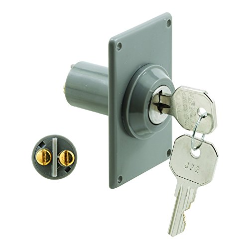 (Prime-Line Products GD 52142 Electric Key Switch, 3/4 in. Outside Diameter, Hardwired )