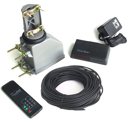 Mast Systems (Channel Master 9521A Antenna Rotator & 100' Rotor Wire - TV HAM CB WIFI Rotor)