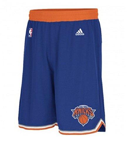 NBA adidas New York Knicks Youth Replica Road Shorts Royal Blue (Youth Medium -