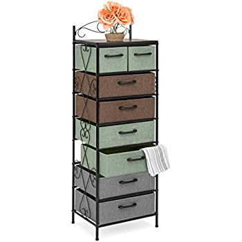 Amazon.com: Household Essentials 8035-1 Wooden 5 Drawer ...