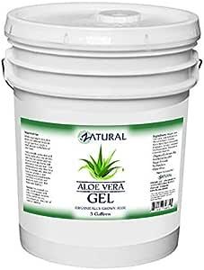Aloe Vera Gel - Natural Scent - Moisturizing - Soothing (5 Gallon)