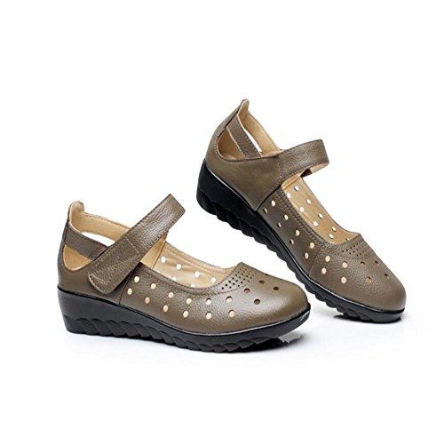 Hueco De Sandals Zapatos De Mujer Brown